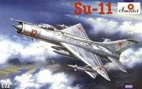 Су-11 истребитель-перехватчик. 72121 Amodel 1:72