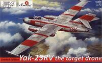 Як-25РВ самолет-мишень. 72212-01 Amodel 1:72