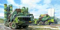 5П85С пусковая установка ЗРК С-300ПМУ-2 Фаворит с ракетами 48Н6Е. 01038 Trumpeter 1:35