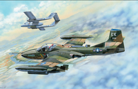 A-37B Dragonfly. 02889 Trumpeter 1:48
