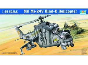 Ми-24В Крокодил многоцелевой ударный вертолет - 05103 Trumpeter 1:35
