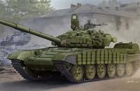 Т-72Б/Б1 ОБТ с ДЗ «Контакт-1». 05599 Trumpeter 1:35