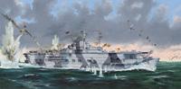 «Граф Цеппелин» (Graf Zeppelin) авианосец Кригсмарине. 05627 Trumpeter 1:350