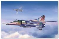 МиГ-27 истребитель-бомбардировщик. 05802 Trumpeter 1:48