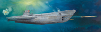 Typ VIIC U-552 подводная лодка. 06801 Trumpeter 1:48