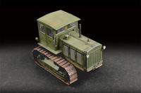 ЧТЗ-65 «Сталинец» трактор с кабиной. 07111 Trumpeter 1:72