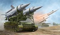 2К11А «Круг-А» ЗРК ПВО СВ с ракетой 9M8M. 09523 Trumpeter 1:35
