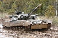 09525 Т-80У основной боевой танк 1:35