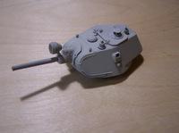 Башня сварная Т-34-76 1940 г. установочная серия. 35082 ЗиП 1:35