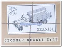 ЗиС-151 бортовой. 1015KIT SSM 1:43