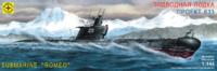 """Подводная лодка типа """"С"""" - средняя проекта 633 ВМФ СССР. 114412  Моделист 1:144"""