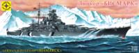 «Бисмарк» линкор Кригсмарине. 135029  Моделист 1:350