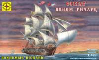 Боном Ричард (Bonhomme Richard ex Duc de Duras) фрегат - 140001 Моделист 1:400