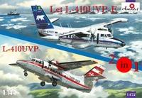 L-410UVP-E и L-410UVP Let (2 модели в комплекте). 1472 Amodel 1:144