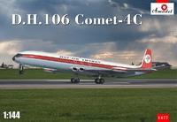D.H.106 Comet-4C первый коммерческий реактивный лайнер. 1477 Amodel 1:144