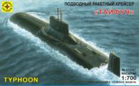 """Тайфун"" ТРПКСН проекта 941. 170067 Моделист 1:700"