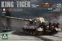 Т-VI «Королевский Тигр» тяжелый танк 505-го батальона с башней «Хеншель» и циммеритом. 2047 Takom 1:35
