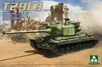 Т-29 Е3 опытный тяжелый танк. 2064 Takom 1:35