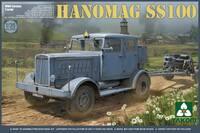 «Ганомаг» SS-100 автомобиль-тягач. 2068 Takom 1:35