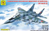 МиГ-29 фронтовой истребитель.  207280 Моделист 1:72