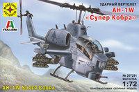 """AH-1W """"Супер Кобра"""" ударный вертолет USMCA. 207291 Моделист  1:72"""