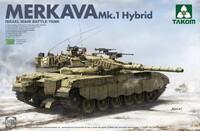 Merkava 1 Hybird Israeli Main Battle Tank. 2079 Takom 1:35