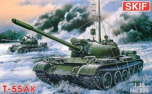 Т-55АК командирский танк - 225 Skif 1:35