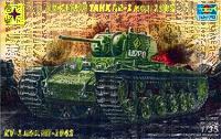 КВ-1 тяжелый танк мод. 1942. 303527 Моделист  1:35