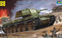 КВ-1 тяжелый танк. 303536 Моделист  1:35