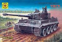Pz Kpfw VI Тигр тяжелый танк - 307233 Моделист 1:72