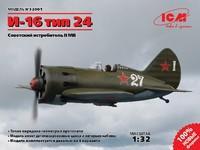 И-16 тип 24 истребитель. 32001 ICM 1:32