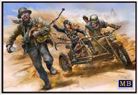 «Битвы в пустыне» Клан Черепа - Поймать вора. MB35140 Master Box 1:35