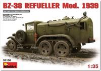 БЗ-38 топливозаправщик образца 1939 г. 35158 Miniart 1:35