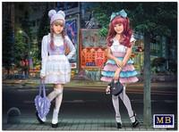 «Минами и Мэй» Лидеры Кавайи фэшн. MB35187 Master Box 1:35