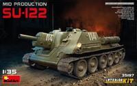 СУ-122 САУ средних серий с интерьером. 35197 MiniArt 1:35