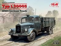 L3000S армейский грузовик. 35420 ICM 1:35