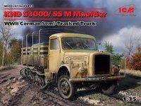 KHD S3000-SS M Maultier армейский полугусенчный грузовик. 35453 ICM 1:35