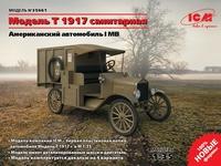 Model T 1917 санитарный грузовик. 35661 ICM 1:35