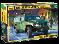 ГАЗ-233014 «Тигр» бронеавтомобиль. ZV3668 Звезда 1:35