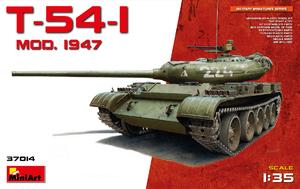 Т-54-1 средний танк обр. 1947 - 37014 Miniart 1:35