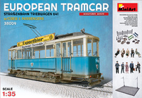 MAN/SSW Triebwagen 641 трамвай с пассажирами. 38009 MiniArt 1:35
