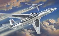 3М стратегический бомбардировщик. 72008 Amodel 1:72