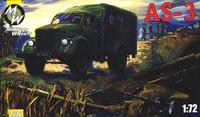 Грузовик АС-3. Масштаб 1/72