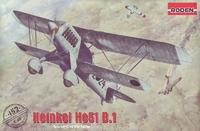 He.51 B-1 Heinkel истребитель-биплан. 452 Roden 1:48