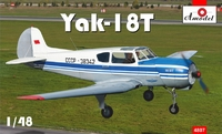 Як-18Т учебно-тренировочный самолет. 4807 Amodel 1:48