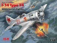 И-16 тип 24 истребитель - 48097 ICM 1:48