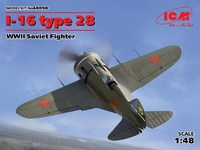 И-16 тип 28 истребитель. 48098 ICM 1:48
