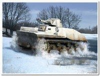 Т-40 легкий плавающий танк. 83825 HobbyBoss 1:35