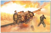 Д-74 122-мм корпусная пушка. 02334 Trumpeter 1:35