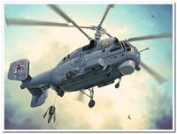 КА-27 корабельный противолодочный вертолет. 81739 HobbyBoss 1:48